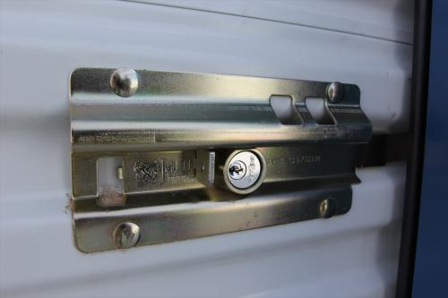 Latches with Recessed Cylinder Locks